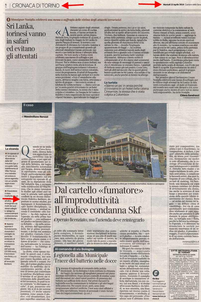 Avvocato Del Lavoro A Torino Lo Studio Legale Di Federica